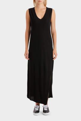 DKNY Reversible Vnk Slvls Dress
