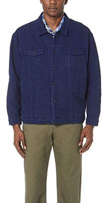 Naked & Famous Denim Men's Denim Jacket-Stretch Sashiko