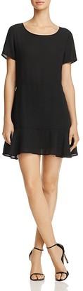 AQUA Flounce-Hem Dress - 100% Exclusive $88 thestylecure.com