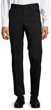Versace Tonal Stripe Wool Stretch Dress Pants