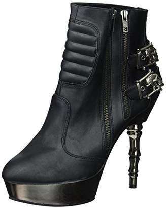 Demonia Women's Mue900/Bvl Ankle Bootie