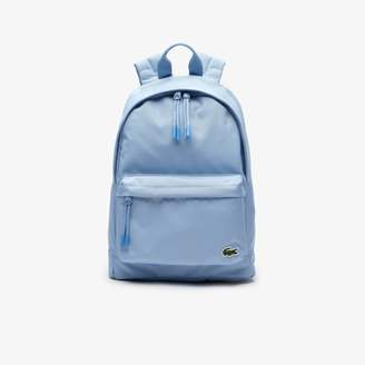 Lacoste Men's Neocroc Small Canvas Backpack