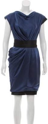 J. Mendel Mini Belted Dress