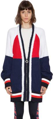 Tommy Hilfiger Gigi Hadid Oversize Color Block Cardigan