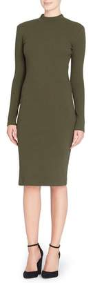 Women's Catherine Catherine Malandrino 'Kristiana' Knit Midi Dress