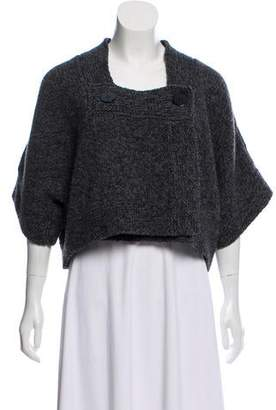 Stella McCartney Wool Cropped Cardigan