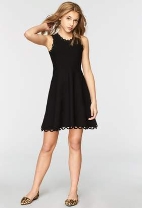 Milly Minis MillyMilly Eyelet Flare Dress