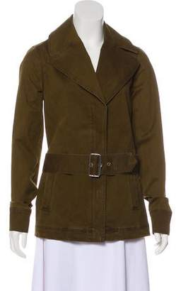 A.L.C. Notch-Lapel Zip-Up Jacket