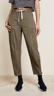 Alexander Wang Cotton Twill Cargo Pants