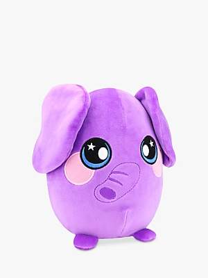 Squeezamals Percy The Elephant Soft Toy
