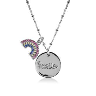 Radley Smile Silver Necklace