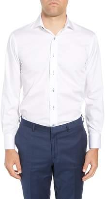 Lorenzo Uomo Trim Fit Dot Dress Shirt
