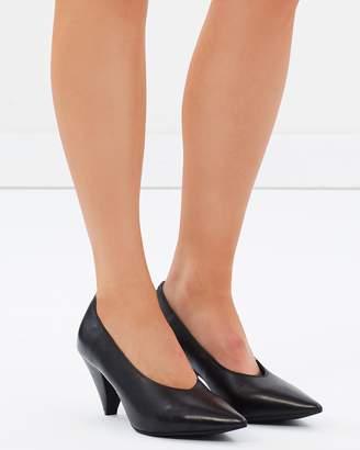 Adora Leather Heels