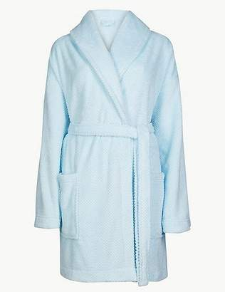 Marks and Spencer Fleece Short Dressing Gown