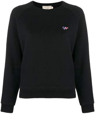 MAISON KITSUNÉ fox logo sweatshirt