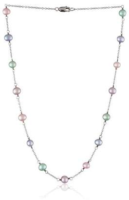 """Honora Girls"""" Freshwater Cultured Pearl and Chain Necklace"""