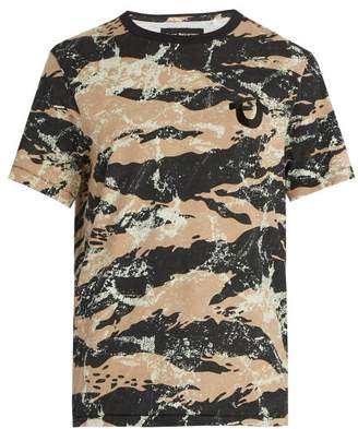 True Religion Camouflage Print Cotton T Shirt - Mens - Multi