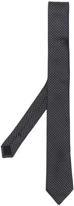 Saint Laurent micro pattern tie