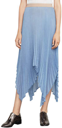 BCBGMAXAZRIA Rumi Asymmetric Pleated Skirt