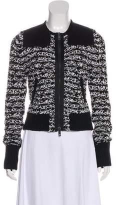 Rag & Bone Knit Zip-Up Jacket