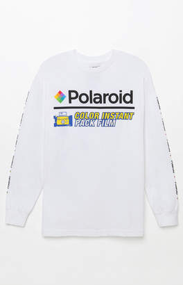 Polaroid Color Instant Long Sleeve T-Shirt