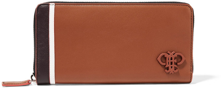 Emilio Pucci Emilio Pucci Color-block leather wallet