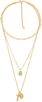 Luv Aj x SABO LUXE The Isidore Cross Charm Necklace