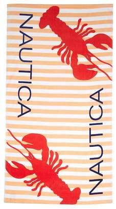 "Nautica Lobster Sherbert Beach Towel - 35\""x66\"""