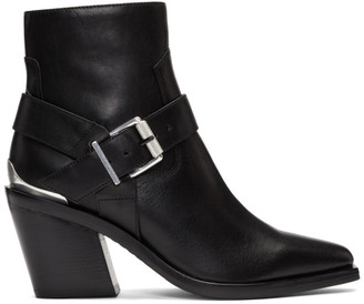 Rag & Bone Black Ryder Boots