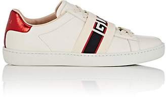 d1a999ef281 Gucci Women s New Ace Leather Sneakers - White
