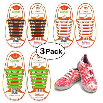 138127b9b9cb Converse Shackcom No Tie Flat Elastic Shoelaces 4 Pack fors