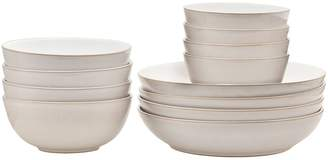 Denby Natural Canvas 12-Piece Bowl Set