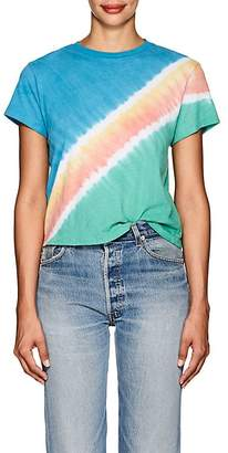 RE/DONE Women's Tie-Dyed Cotton T-Shirt