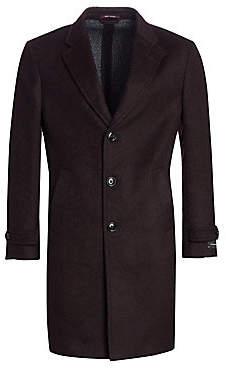Ermenegildo Zegna Men's Wool Top Coat