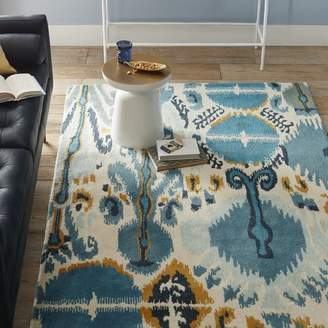 west elm Summer Ikat Special Order Wool Rug (30-Day Delivery)