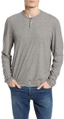 James Perse High Twist Regular Fit Henley