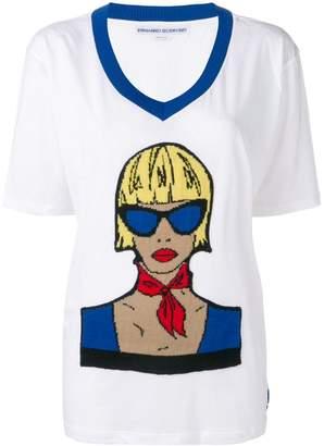 Ermanno Scervino graphic print T-shirt