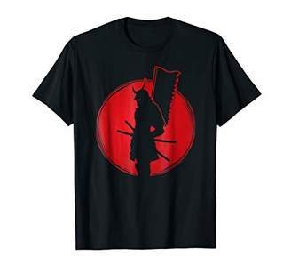 Samurai Tshirt - Japanese Katana Yielding Ninja Assassin Tee
