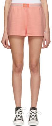 Calvin Klein Underwear Pink Monogram Shorts