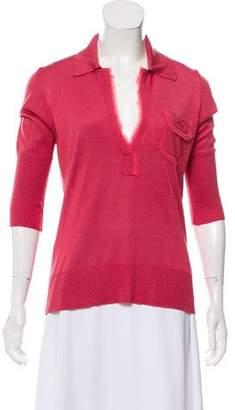 Kenzo Long Sleeve Knit Sweater