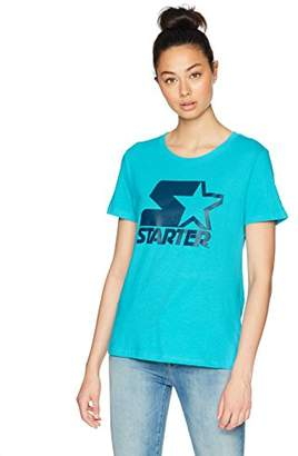 Starter Women's Short Sleeve Logo T-Shirt