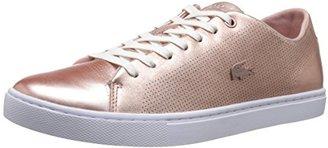 Lacoste Women's Showcourt Lace 116 1 Fashion Sneaker $67.18 thestylecure.com