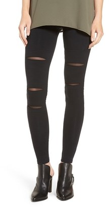 BP. Mesh Inset Leggings $39 thestylecure.com