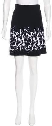D-Exterior D. Exterior Knit A-Line Skirt