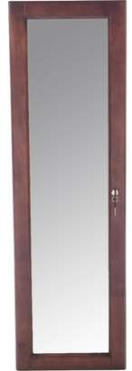 Alcott Hill Flora Wall Mounted Jewelry Armoire with Mirror