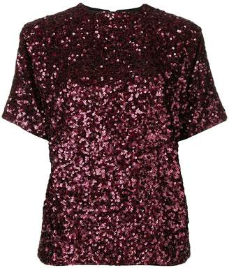 Victoria Beckham sequined T-shirt