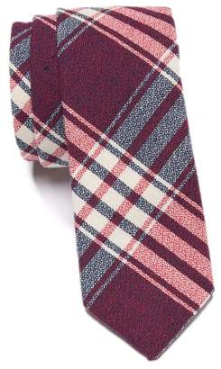 Original Penguin Leary Plaid Skinny Tie