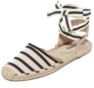 Soludos Striped Espadrille Sandals $55 thestylecure.com
