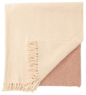 AM HOME TEXTILES Tassel Throw Blanket
