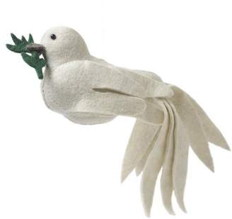 Arcadia Home Dove Christmas Tree Topper